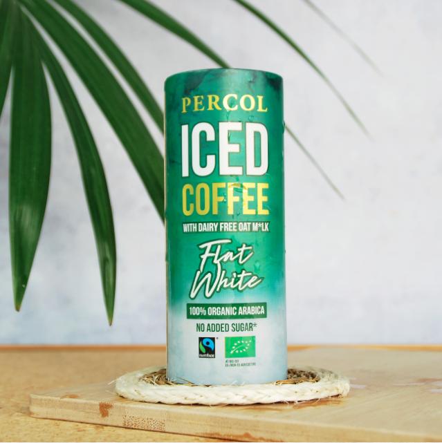 Percol Iced Coffee Oat Mlk Dairy Free Flat White 235ml